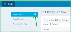 how to subscribe to a blog off of wordpress.com